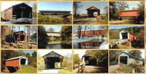 Covered Bridge Postcards